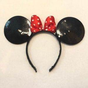 Disney Sequence Minnie mouse ears adult os